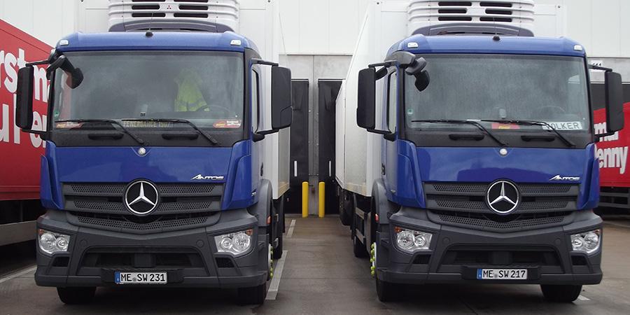 Transporte in den Bereichen Lebensmittel, Non-Food und Getränke