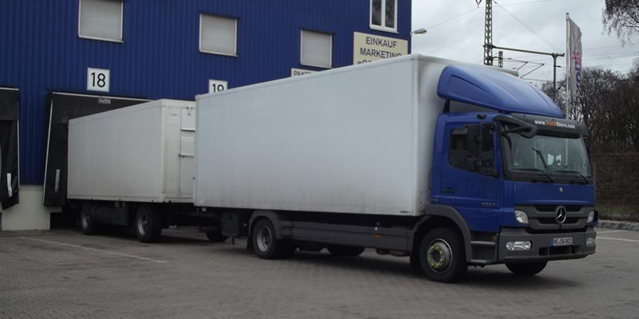 Foodtransporte für den Einzelhandel